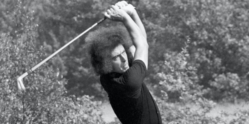 Irish Open winner John O'Leary...