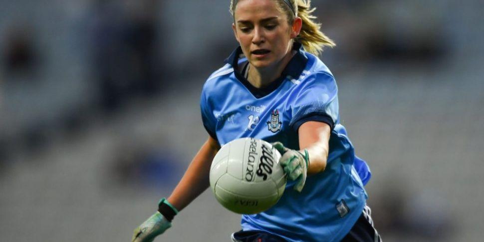Dublin footballer Siobhán Kill...