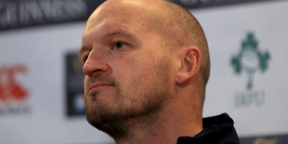 Scotland head-coach Gregor Tow...