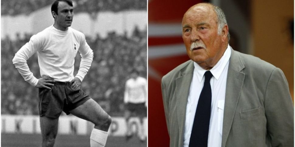 Spurs and England legend Jimmy...