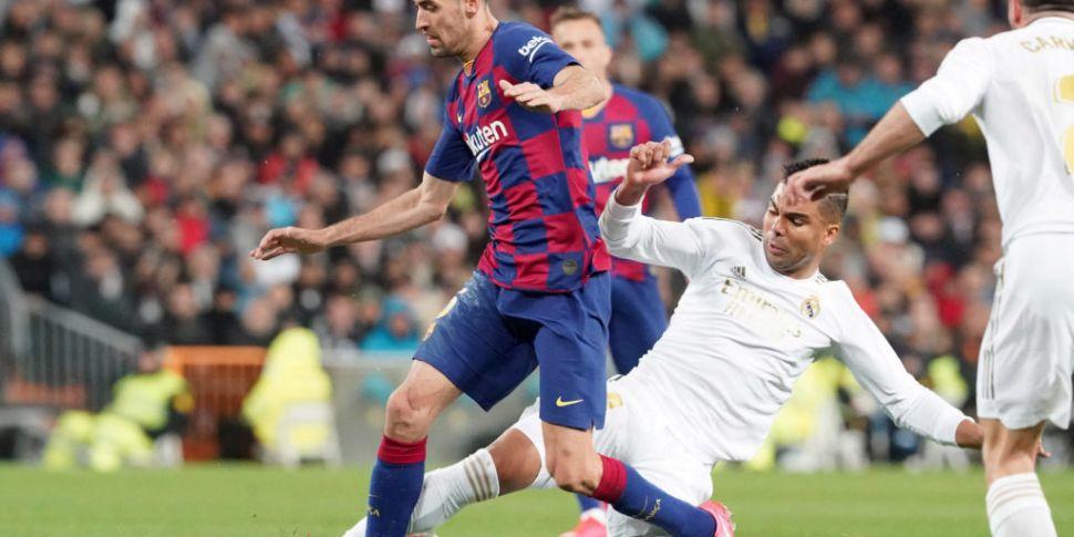 La Liga given the go ahead to...
