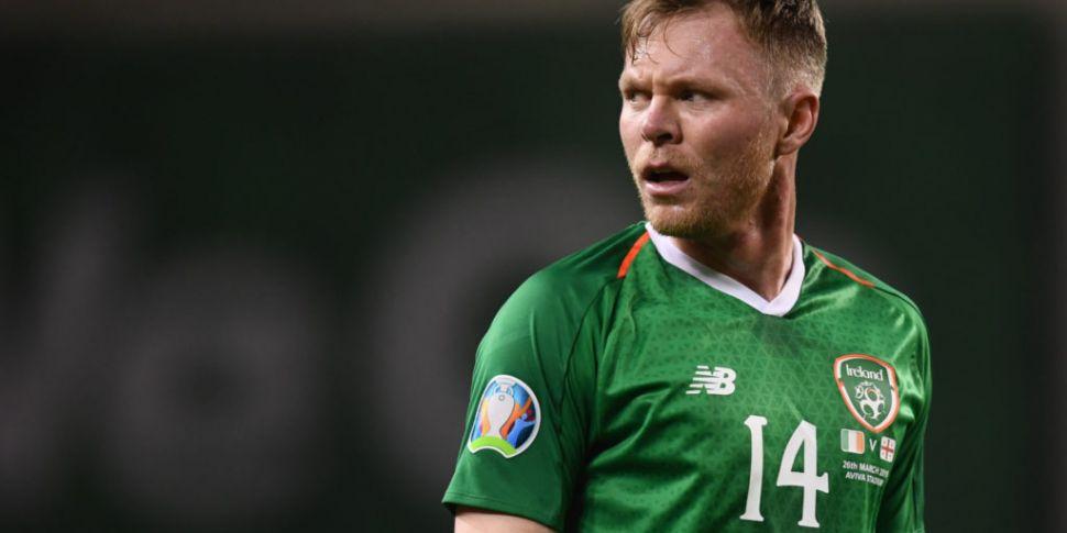 Irish striker Aiden O'Brien si...