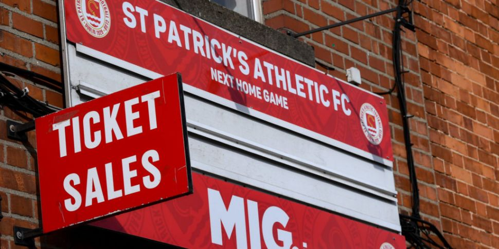 St Patrick's Athletic to tempo...