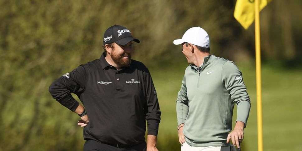 Shane Lowry sees Rory McIlroy...