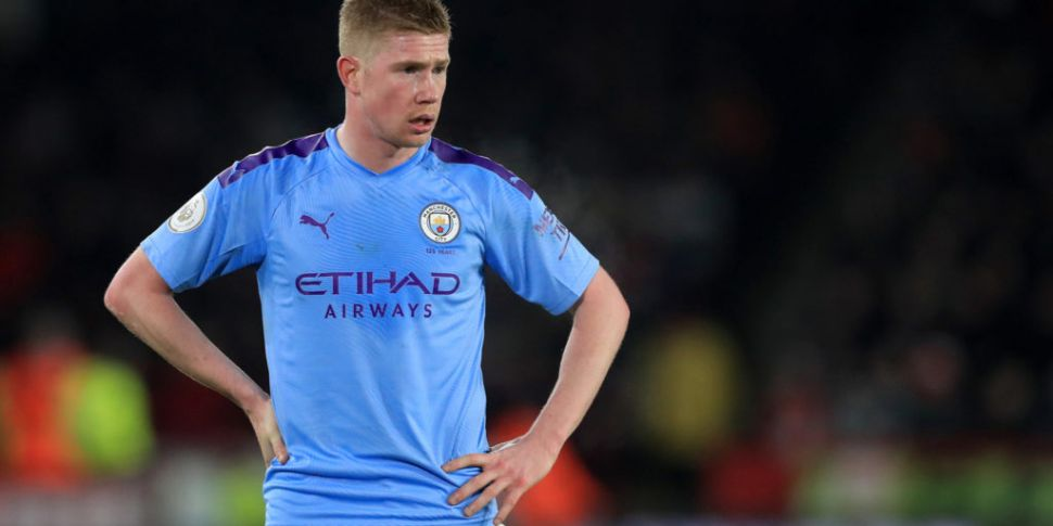 Kevin de Bruyne ruled out of M...