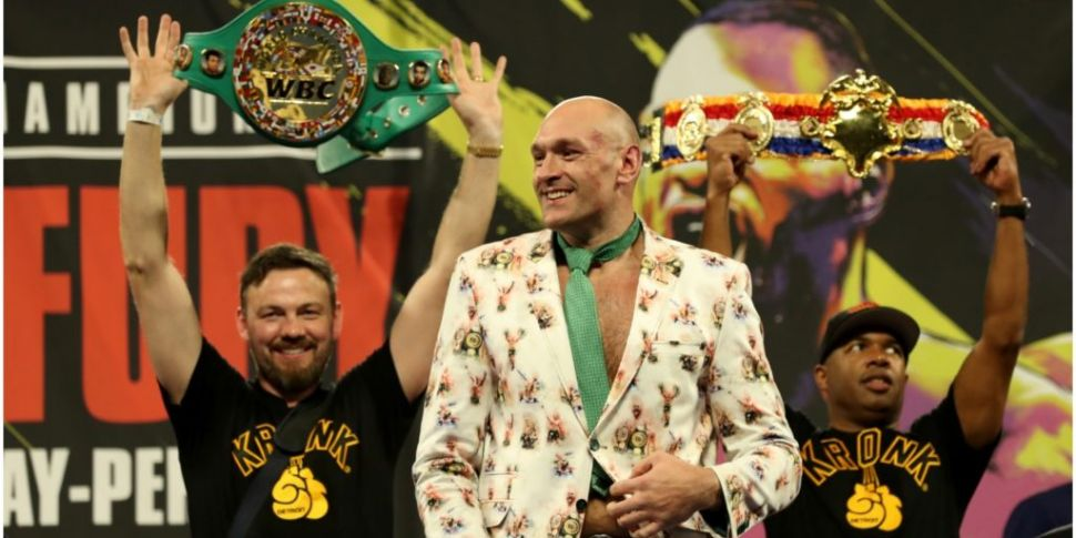 'Tyson beats them both'   Andy...