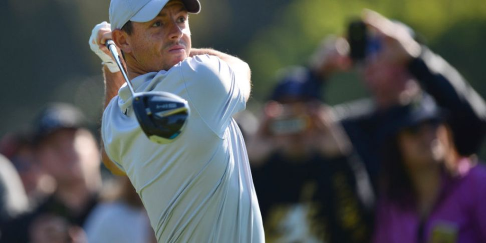Rory McIlroy back on the golf...