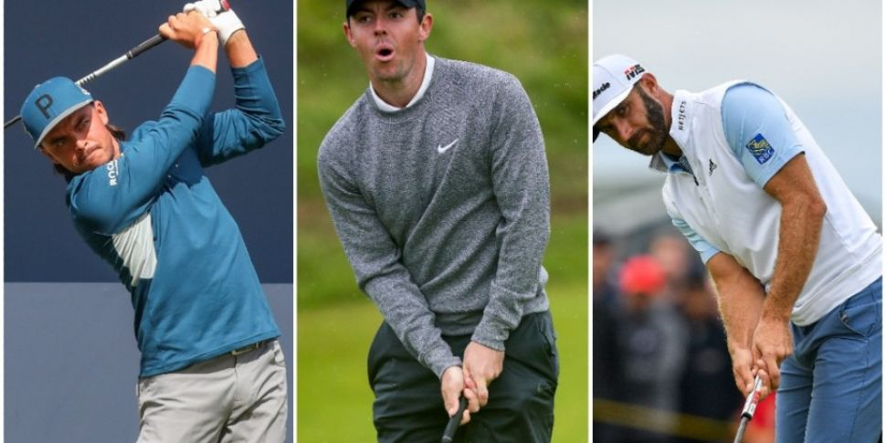 TV details - live golf tonight...