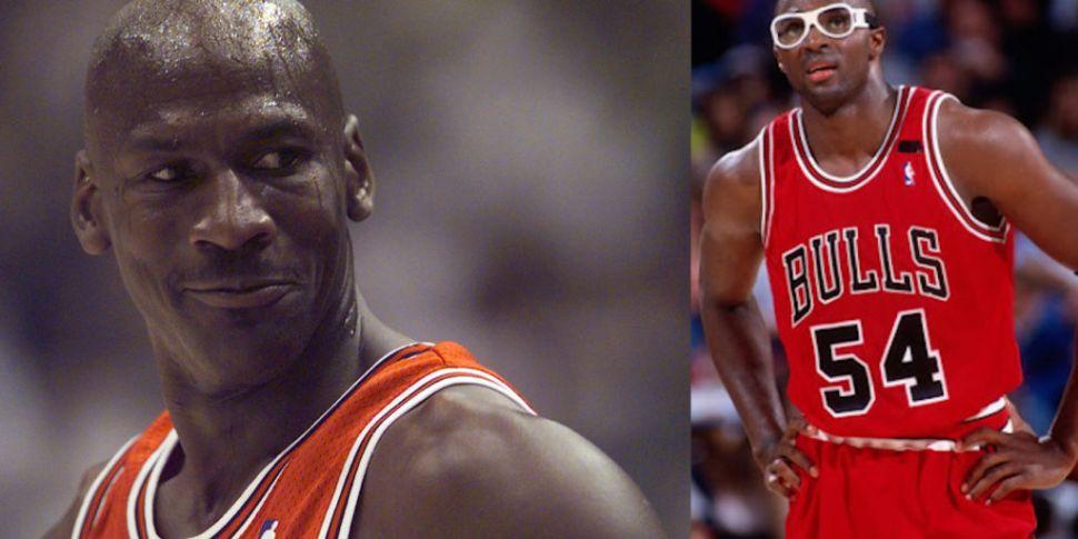 Jordan's former Bulls teammate...