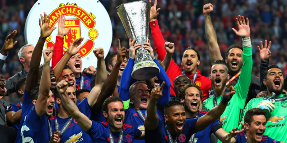 Manchester United's 2017 Europ...