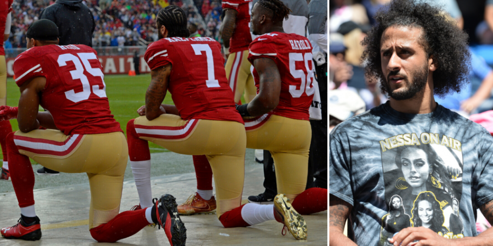 Colin Kaepernick is the most s...