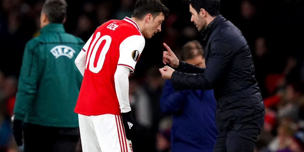 Arteta says his conscience is...