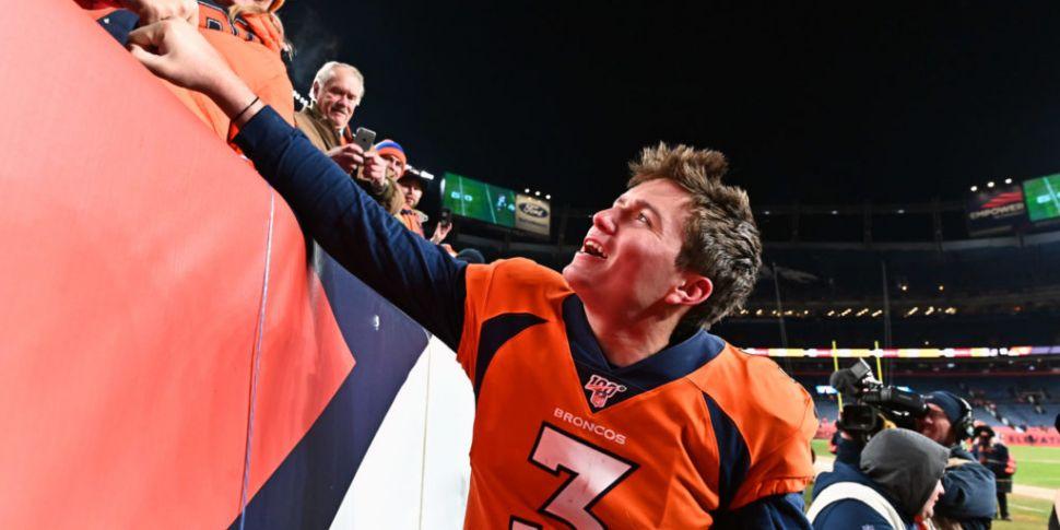 Denver Broncos Drew Lock is wo...