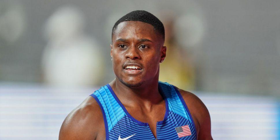 World 100 metres champion Chri...