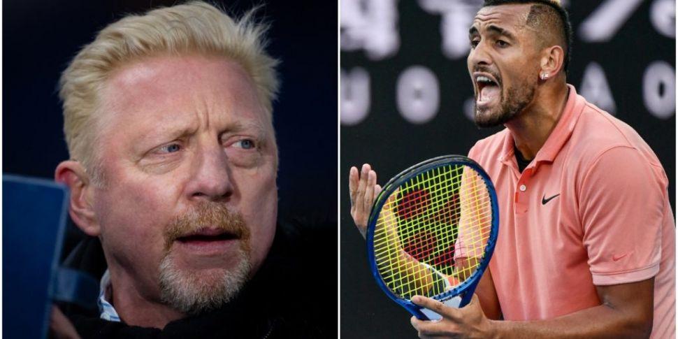 'Rat... Man up' | Boris Becker...