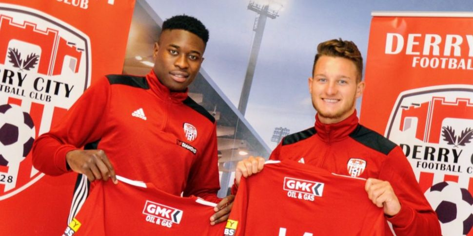 Derry continue signing spree w...