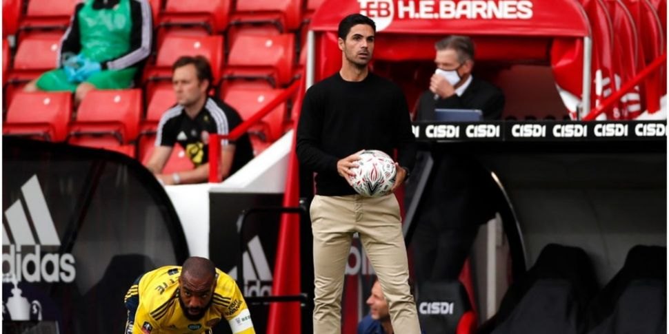 Arteta discusses shame of FA C...