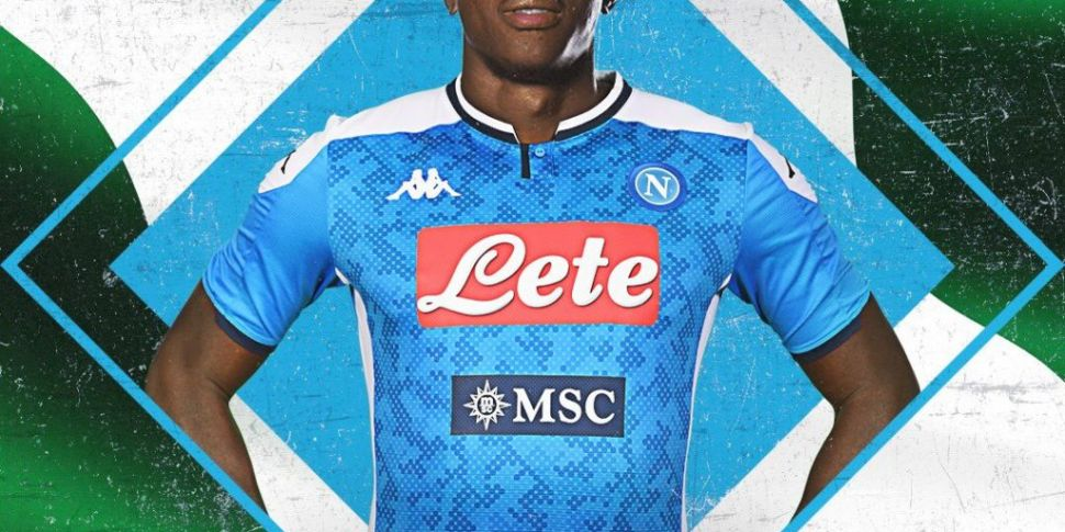 Victor Osimhen is Napoli's new...
