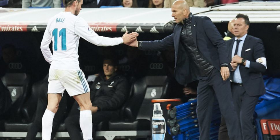 Zidane claims Bale asked to be...