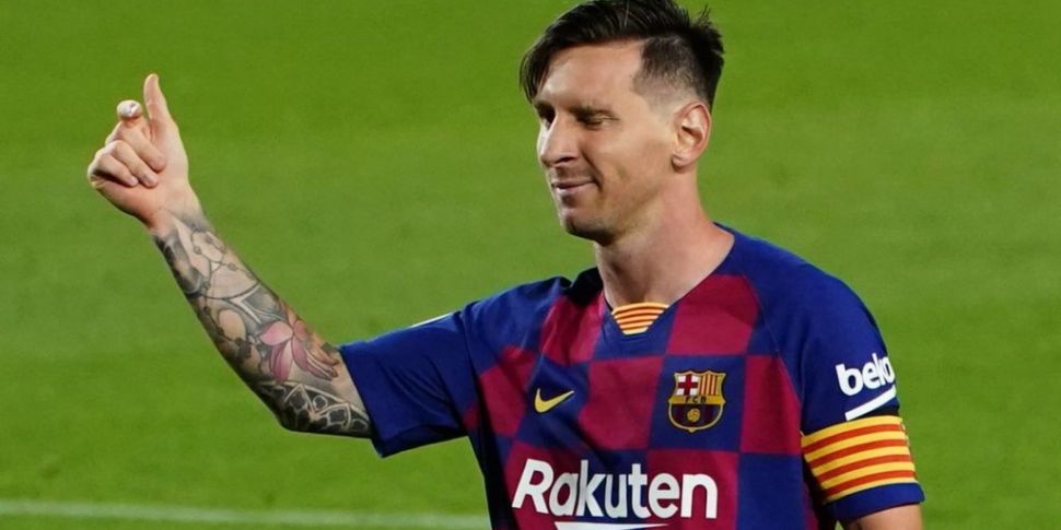 CONFIRMED: Lionel Messi to sta...