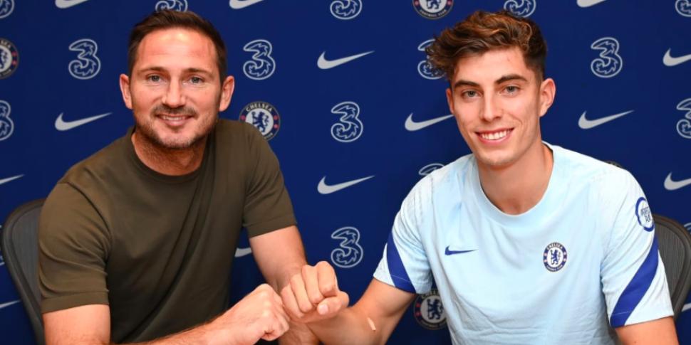 Chelsea confirm capture of Kai...