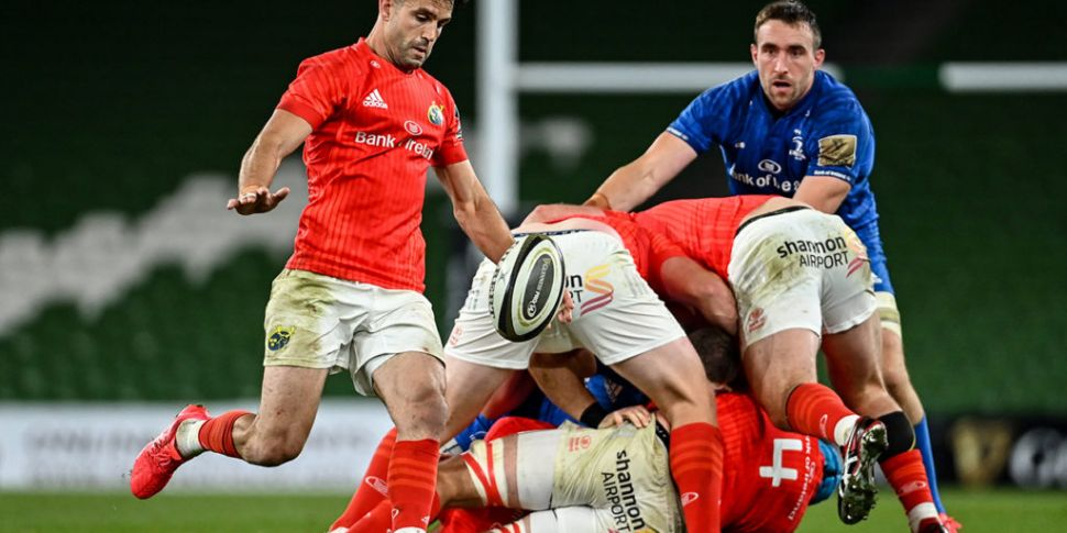 Munster and Leinster teams nam...