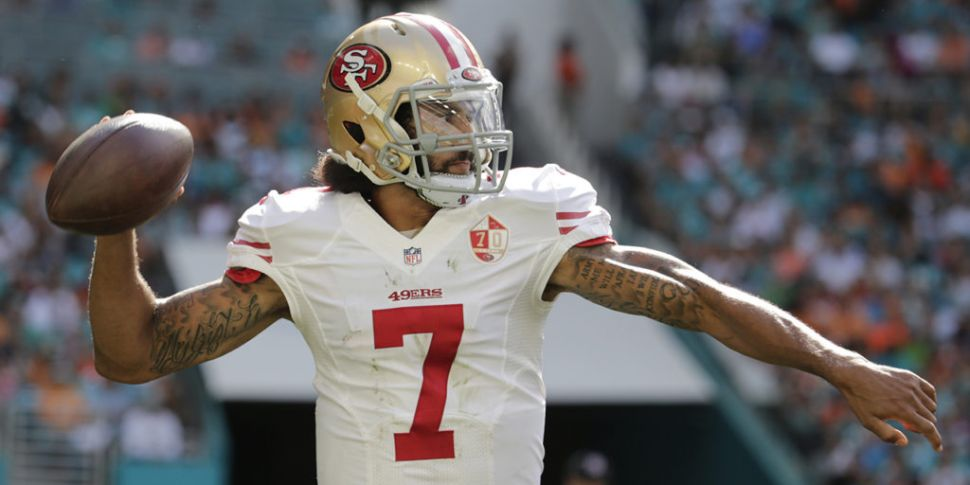 Colin Kaepernick returns to NF...