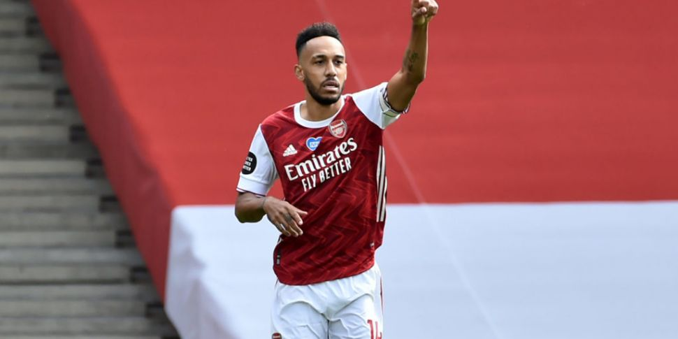 Aubameyang finally ends talk o...