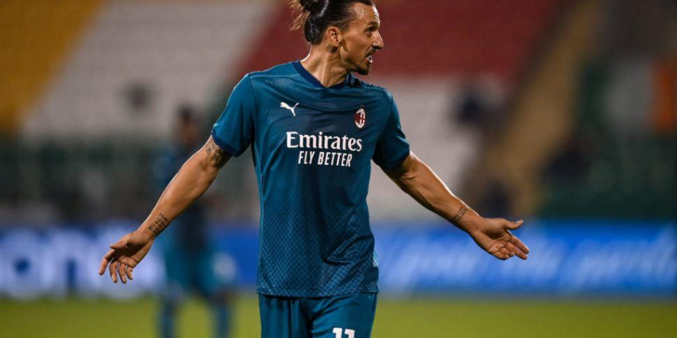 Zlatan Ibrahimović has tested...