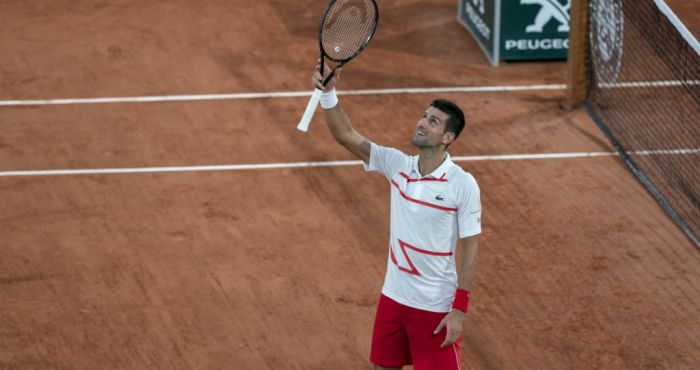 Easy For Djokovic But Tsitsipas Pliskova And Kenin Made To Work Off The Ball