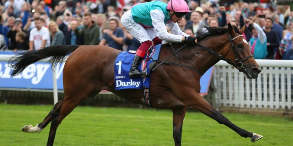 Record breaking horse Enable h...