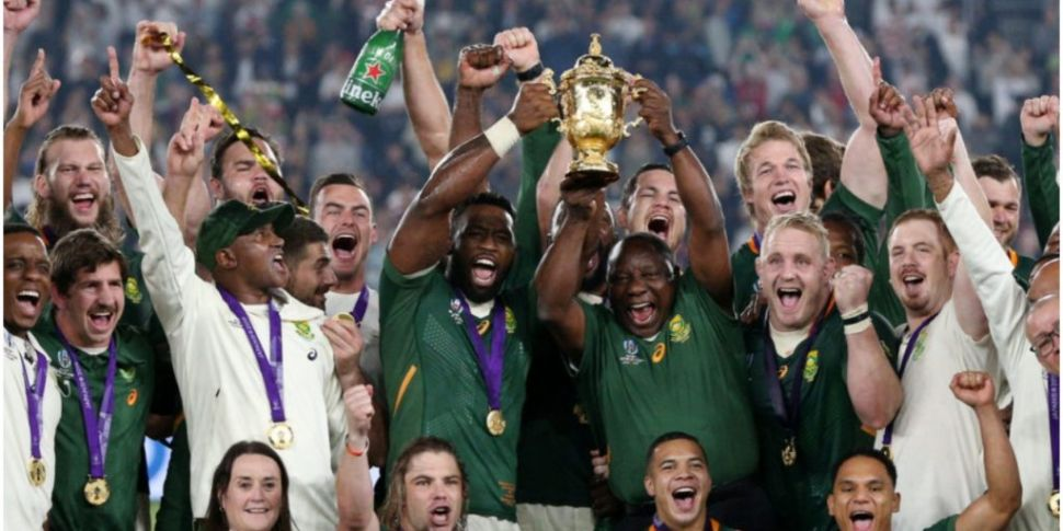World champions South Africa w...