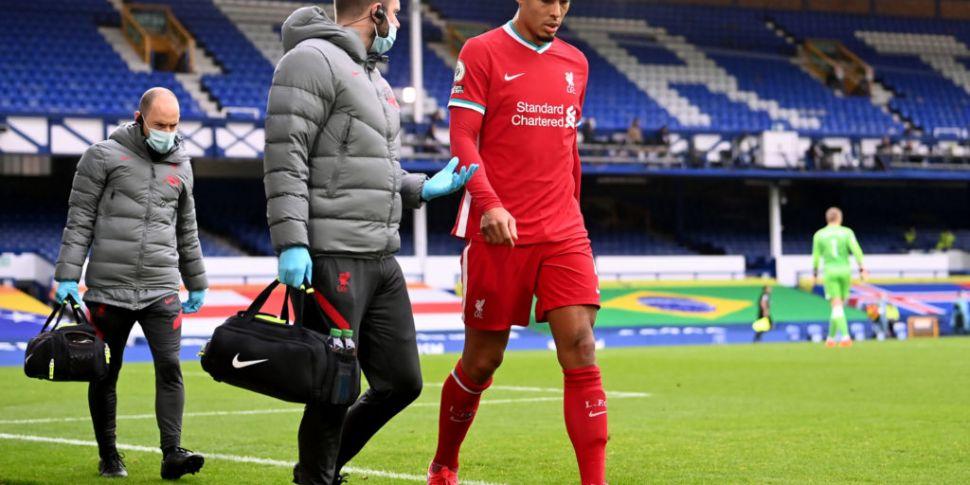 Liverpool say Virgil van Dijk...