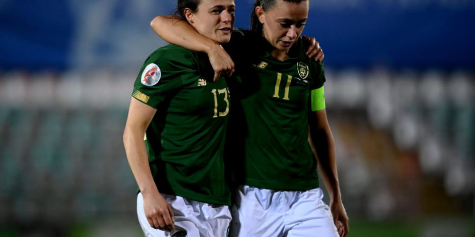 Ireland's playoff hopes dented...