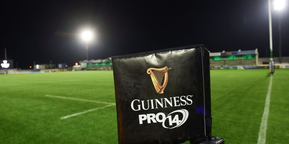 Connacht's PRO14 game with the...