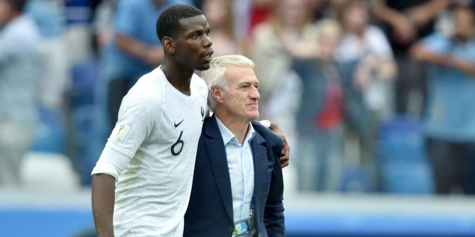 Deschamps: Pogba can't be happ...