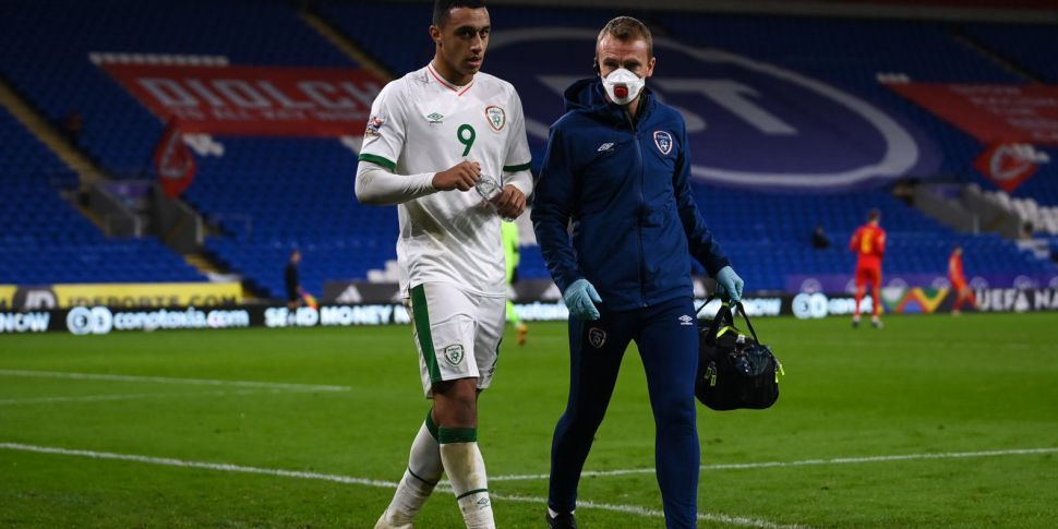 Ireland striker Idah out for t...