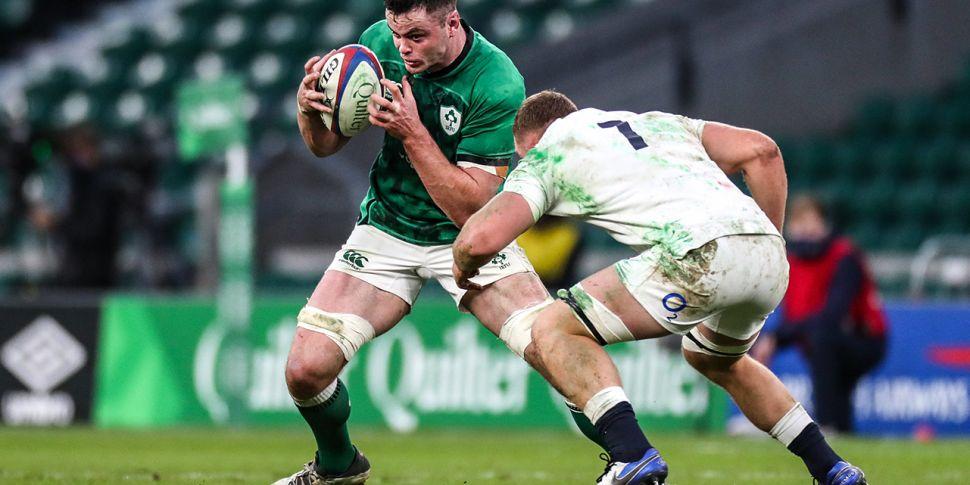 REACTION: Ireland set piece in...