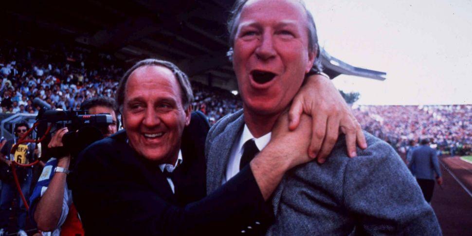 Maurice Setters, Jack Charlton...