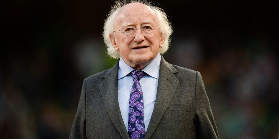 President Higgins pays tribute...