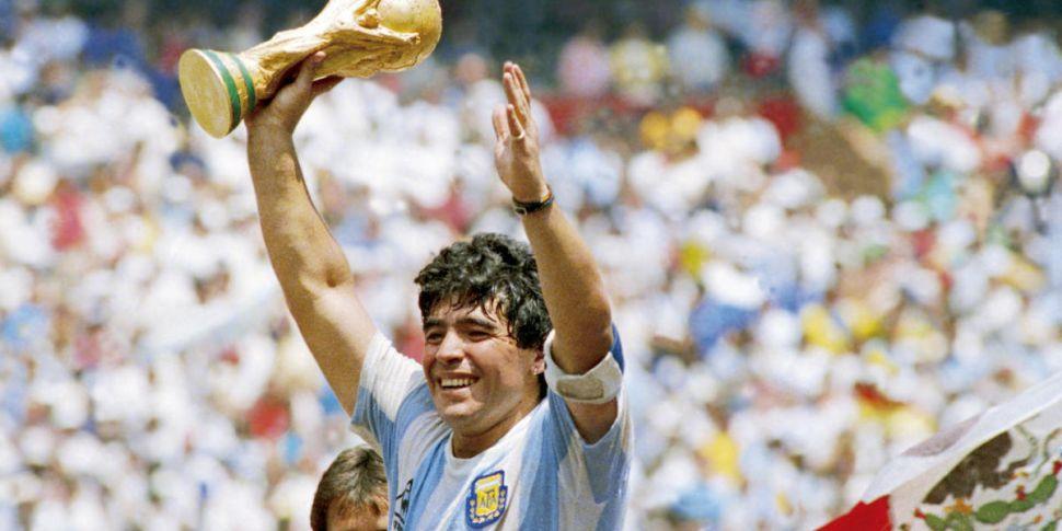 Maradona, DJ Carey, a slice of...