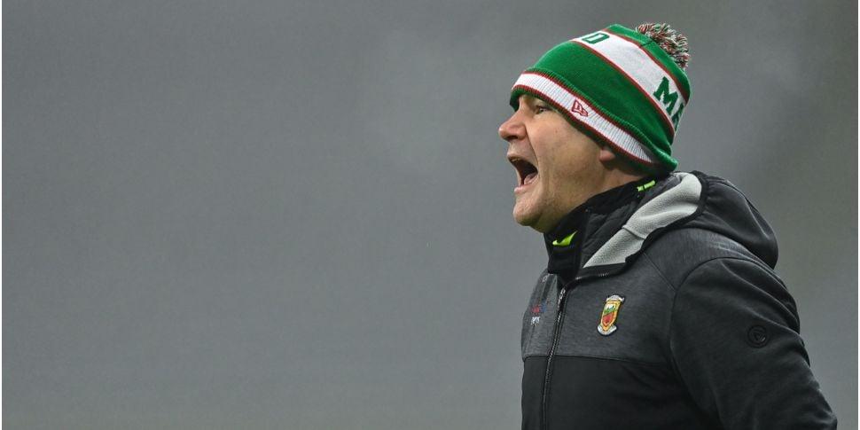 Horan: Mayo will improve ahead...