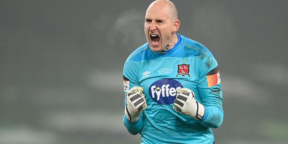 Veteran Dundalk goalkeeper Gar...