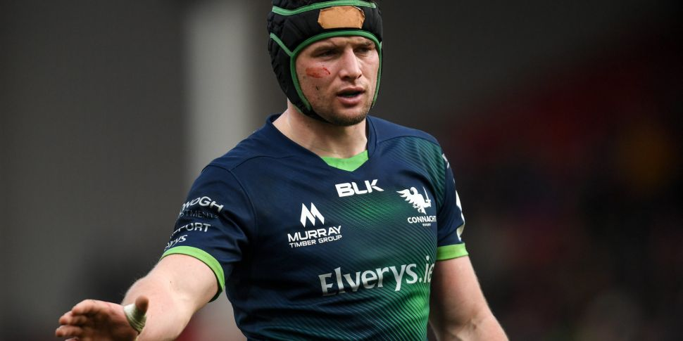 Connacht's Eoghan Masterson to...