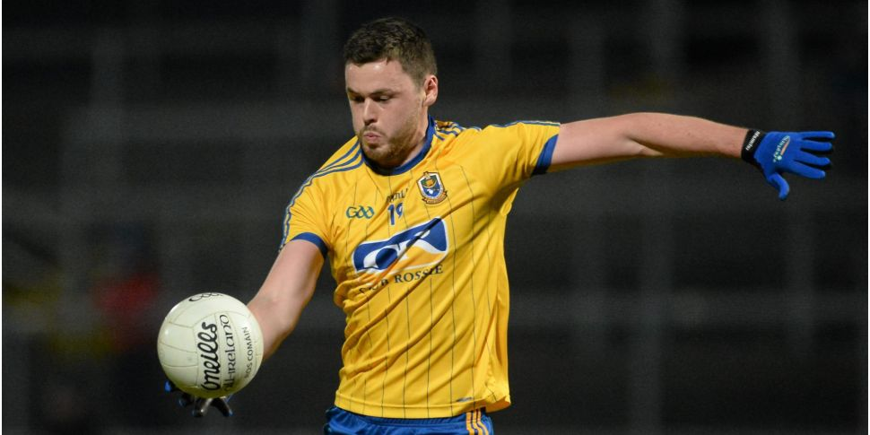Former Roscommon forward Donie...
