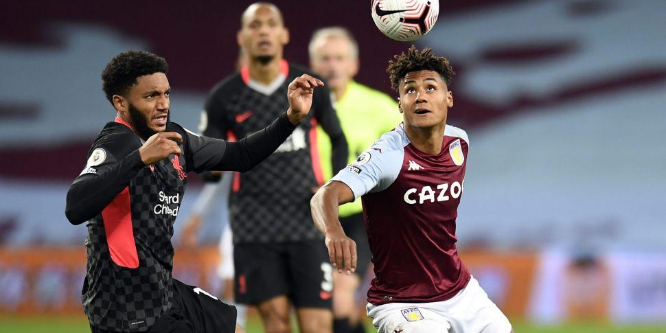 Aston Villa Cup tie with Liver...