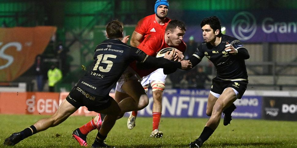 WATCH: Munster survive final f...
