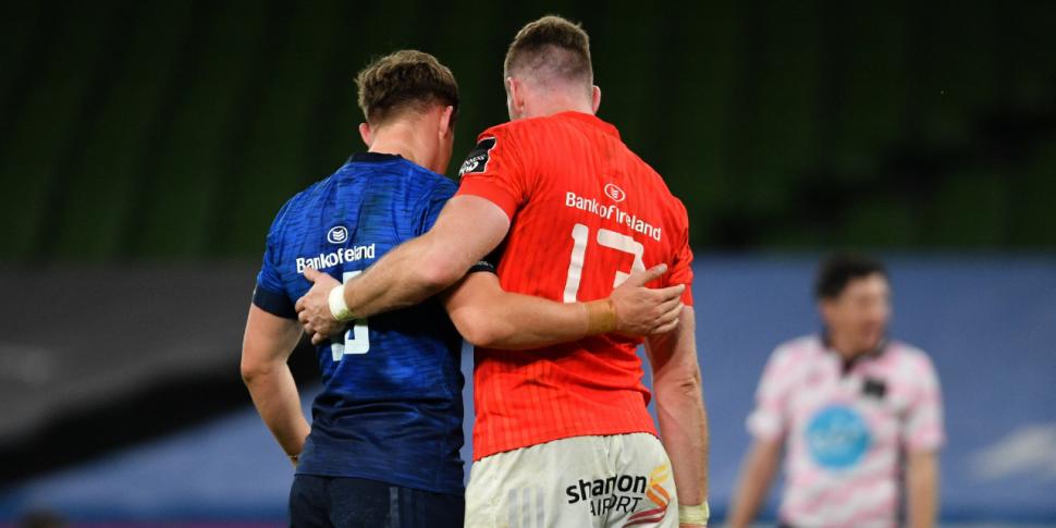 WATCH: The Munster-Leinster ri...