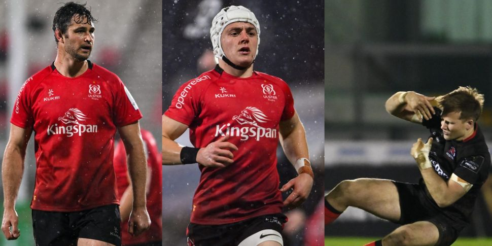 Three more Ulster players sign...