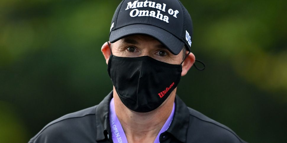 Padraig Harrington reveals COV...